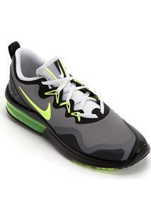 Tênis Nike Air Max Fury Masculino - Masculino-Cinza+Verde Limão