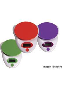 Balanca Cozinha Eletrônica Verde 3Kg Smart