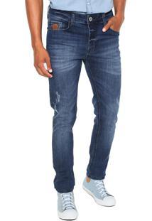 Calça Jeans Colcci Skinny Felipe Azul-Marinho