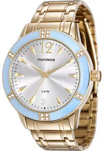 4cd99083fc5 Eclock Relógio Feminino Dobrável Analógico Tamanho Grande Seculus Mondaine  Clock Moda 99121lpmvde1. Ir para a loja  -26% Relógio Mondaine Feminino ...