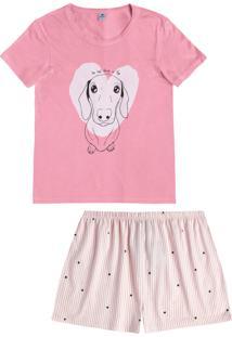 Short-Doll Hering Dogs Funny Rosa