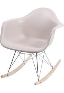 Cadeira Eames Com Braco Base Balanco Fendi Fosco - 35821