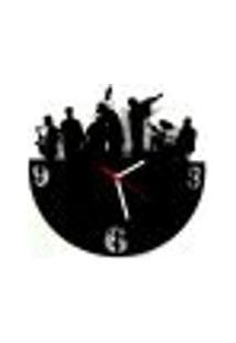 Relógio De Parede Decorativo - Modelo Jazz