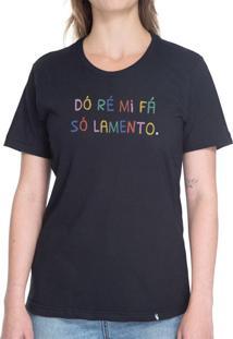 Dó Ré Mi Fá - Camiseta Basicona Unissex