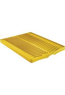 Bandeja Para Louças - Plurale - Cor Amarelo Ônibus Escolar - Tramontina