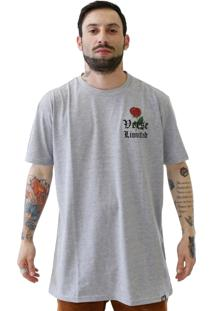Camiseta Verse Limited Gangster Cinza