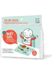 Kit Jogo Americano E Babador Descartáveis Baby Eats Likluc - Kanui