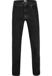 Calça Jeans Malha Denim Black