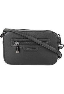 Bolsa Dumound Mini Bag Soft Safiano Feminina - Feminino-Preto
