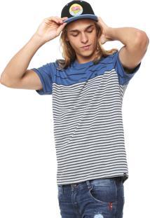 Camiseta Hurley Silk Join Azul