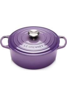 Panela Redonda Signature 20 Cm Ultra Violeta Le Creuset