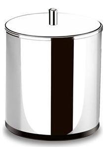 Lixeira Brinox Com Tampa Decorline Em Aço Inox - 5,4 L