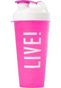 Coqueteleira Workout Time 600Ml Live! - Unissex
