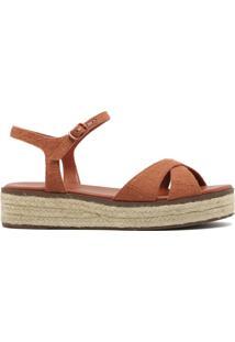 Sandália Flatform Natural Ferrugem | Anacapri
