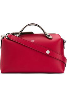 Fendi Bolsa Tiracolo Com Logo - Vermelho