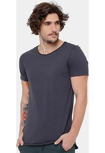 Camiseta Kohmar Alongada Masculina - Masculino