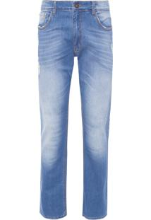 Calça Masculina Slim Manati - Azul