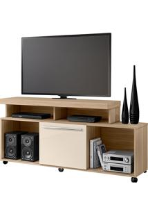 Rack Para Tv De Até 55''Quebec-Moble - Macchiato / Off White