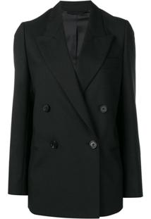 Acne Studios Double-Breasted Suit Jacket - Preto