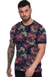 Camiseta Di Nuevo Estampada Florida Floral
