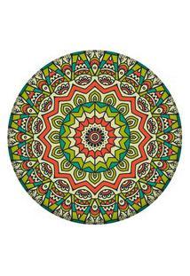 Tapete Love Decor Redondo Wevans Mandala Green 84Cm
