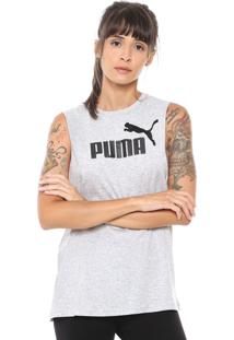 Regata Puma Essentials Cinza