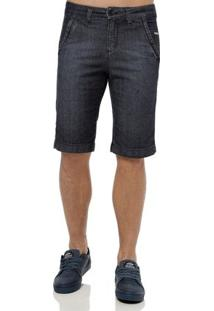 Bermuda Jeans Masculina Klug Azul