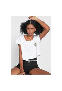 Camiseta Cropped Element The Vision Branca