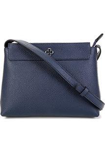 Bolsa Capodarte Shoulder Bag Monocolore Feminina - Feminino-Marinho