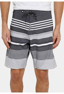 Boardshort Hang Loose Dealer Masculina - Masculino-Grafite