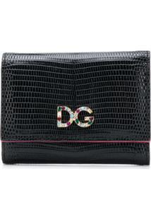Dolce & Gabbana Carteira Pequena De Couro - Preto