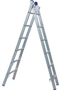 Escada Extensível 2X6 12 Degraus - Unissex
