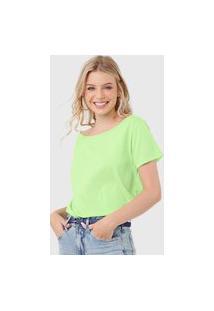 Blusa Colcci Botonê Verde