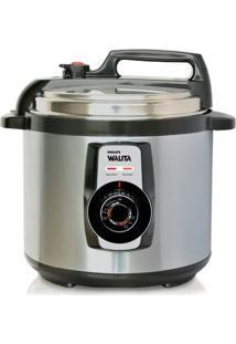 Panela De Pressão Elétrica Philips Walita Daily Ri3103-75 Inox 220V