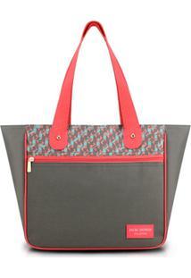 Bolsa Jacki Design - Feminino-Cinza