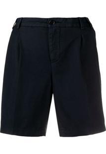 Aspesi Bermuda De Alfaiataria Pantalona - Azul