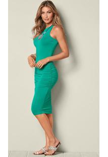 357b156a2d Vestido Bonprix Verde feminino