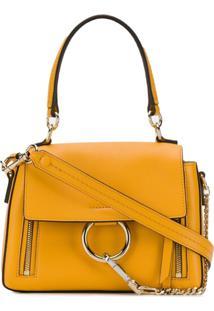 Chloé Bolsa Tiracolo Faye Mini - Amarelo