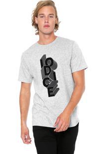 Camiseta Iódice Manga Curta Steps Cinza