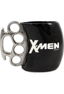 Caneca Soco Inglês X-Men Geek10 Preto