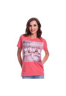 Camiseta Jazz Brasil Macacos Vermelha