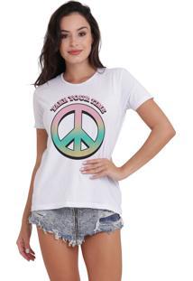 Camiseta Jay Jay Básica Take Your Time Branca Dtg