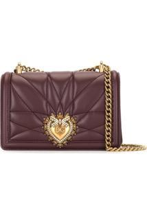 Dolce & Gabbana Devotion Shoulder Bag - Do Not Use - Burgundy