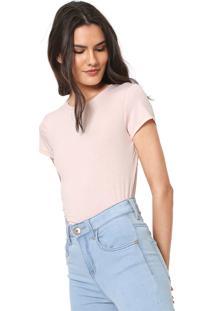 Camiseta Lez A Lez Lisa Rosa