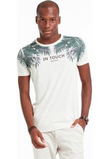 Camiseta Mm Docthos Meia Malha Linho - Masculino