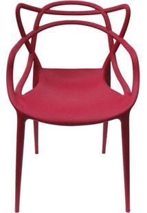 Cadeira Master Allegra Polipropileno Cereja - 38027 - Sun House
