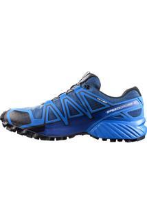 Tênis Salomon Speedcross 4 Cs Masculino - Azul/Preto