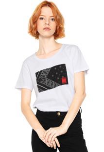 d3b8db70d R$ 119,00. Dafiti Camiseta Calvin Klein Jeans Estampada Branca