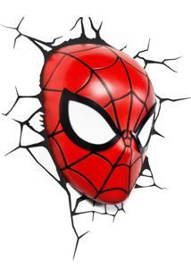 Arandela Homem-Aranha 3D Mascara Vermelha Startec