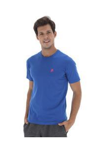 ... Camiseta Polo Us Gola Careca 606Tsgcb - Masculina - Azul Rosa 580377573a629